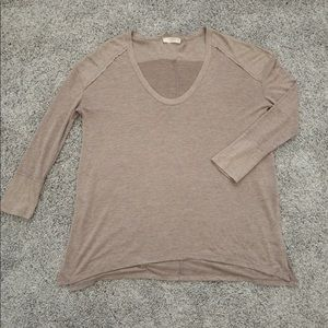 ELODIE lightweight flowy boho tunic top size L